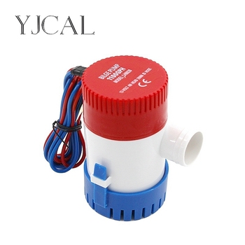 Submersible Electric Water Pump 350 500 750 1100GPH DC 12V 24V Bilge Pump For Seaplane Civil Ship Houseboat Boats bilge pump 1100gph dc 12vv electric water pump for aquario submersible seaplane motor homes houseboat boats car accessories