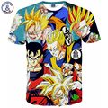 Mr.1991INC Dragon Ball Z Goku 3D t shirt Funny Anime Super Saiyan t shirts Men/women Harajuku tee shirts Casual t-shirts tops