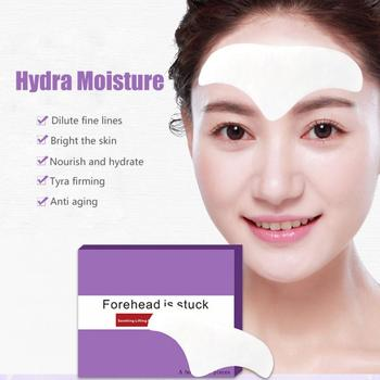 10 PCS Forehead Line Frown Lines Removal Anti-wrinkle Stickers Patch Moisturizing Repairing Anti-aging Forehead Lifting Mask