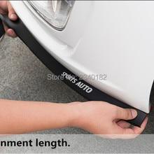 Бампер для автомобиля, защита для передней губы, резиновая внешняя полоса, боковые юбки для hyundai elantra ix35 solaris accent i30 ix25, аксессуары