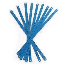 10x Hoge Carbon Staal Blauwe Kleur Ijzerzaag Bladen 300 Mm Lengte Metaalbewerking Blade Voor Snijden Metalen Producten