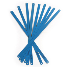 10x stal wysokowęglowa niebieski kolor piły do metalu o długości 300mm ostrze do cięcia metalu