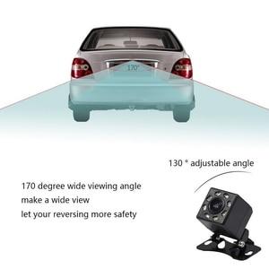 Image 2 - IP68 Waterproof Car Rear View Camera 8 LED Lights HD Night Visions 170 Degree Car Dash Camera Universal Reverse Parking Camera