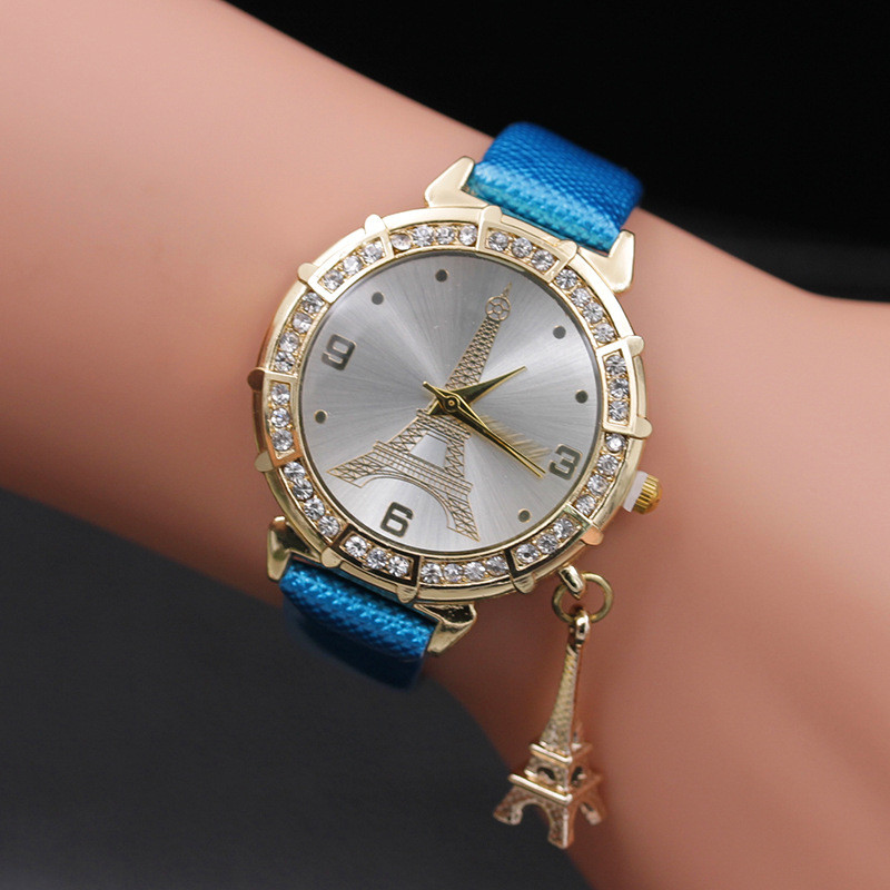 Excellent Quality Brand Fashion Women Bracelets Watches Quartz Gift Watch Wristwatch Women Dress Leather Casual Watches 2018 #F