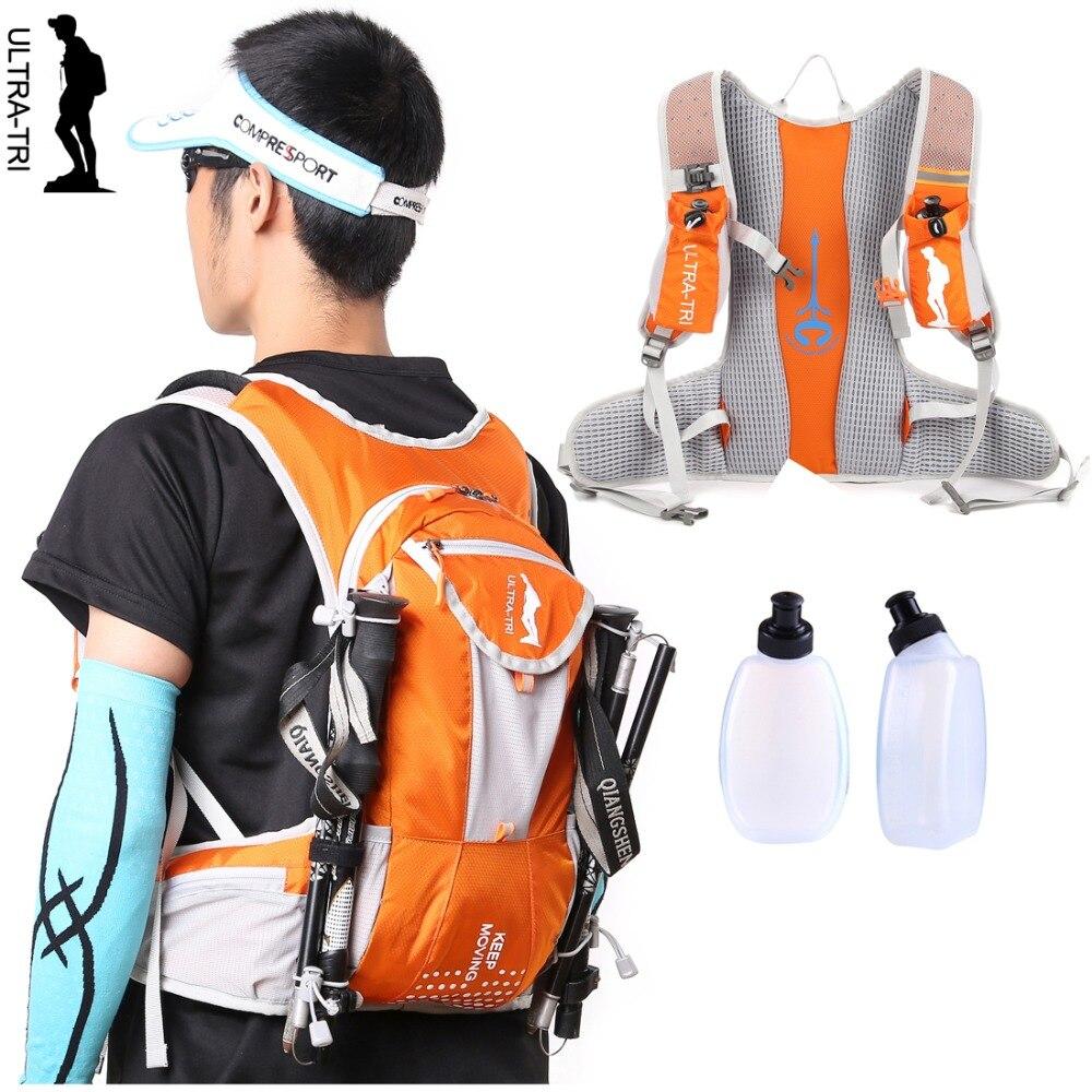 ULTRA-TRI Hydration Mochila Trail Run Pack Outdoor Sport Marathon Bag  Professional Lightweight Vest Backpack Black Blue Orange 587296bdf9f2