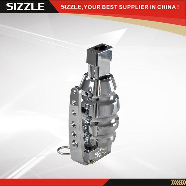 Aluminum Chrome Grenade Shift Knob For HUMMER H2 2003-2006