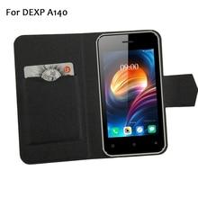 5 цветов! DEXP A140 кожаный чехол для мобильного телефона, заводская цена защитный полный Флип Стенд кожаный чехол для телефона чехлы