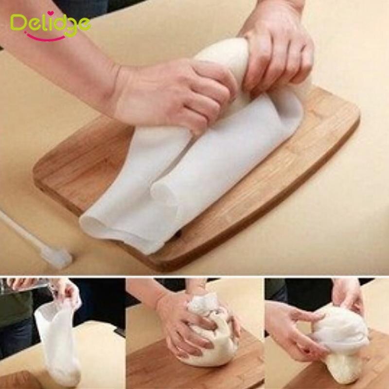 Delidge 1 Satz Kochen Pastry Werkzeuge Weiche Silikon Erhaltung Kneten Teig Mehl-mischen Tasche Küche Gadget Zubehör