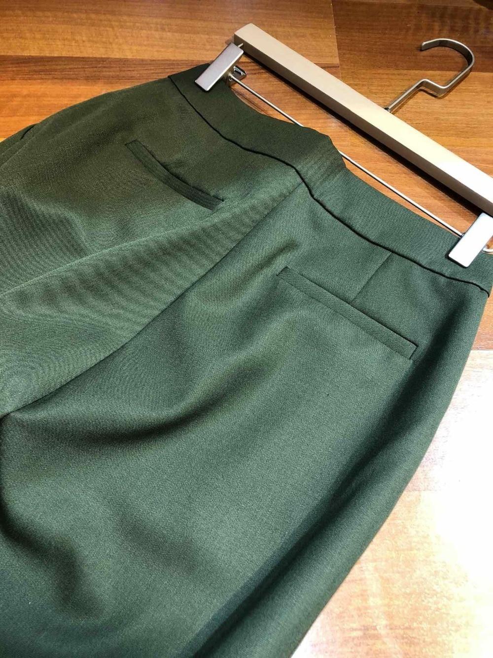 Lana Primavera Del Otoño 0320 Las De Mezcla Nuevos 2019 Pantalones Ejército Mujeres Y Verde PEwa8xAEdq