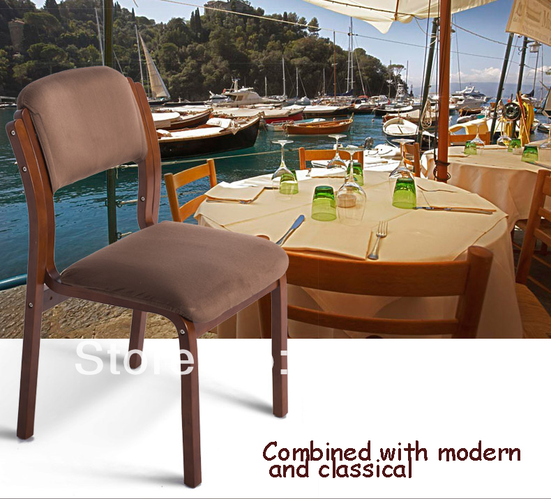 Hot 2014Promotion WholesaleNew Stylish Solid Wood Dining Chairlive Room Chairdetachablewood Home Furniturehotel Furniture