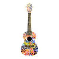 19.9*6.5*63cm Musical Instrument Guitar Ukulele with 4 Strings for Beginner