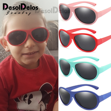 Kids Children Sunglasses 2-11 years Girls Boys Light Flexibl