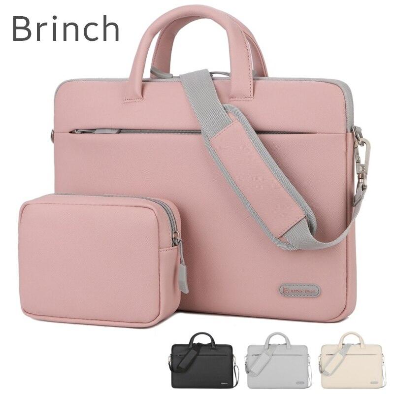 2020 Brand Brinch Bag For Laptop 13,14,15,15.6 inch,Messenger Handbag Case For Macbook air pro 13.3,15.4 Free Drop Shipping 245