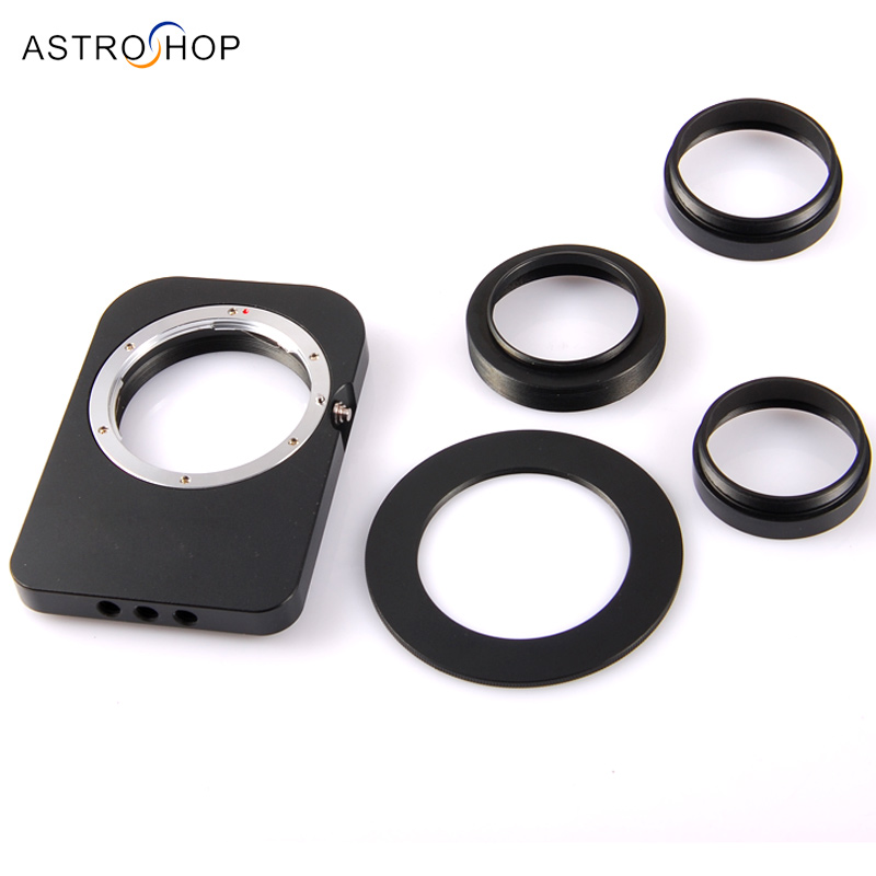 Adapter for DSLR lenses to Astronomy CCD Camera oom control for eng lenses