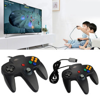 Hot Sale Game Consoles Wired Vibration Shock Game Controller Joypad Joystick For PC Laptop Nintendo 64