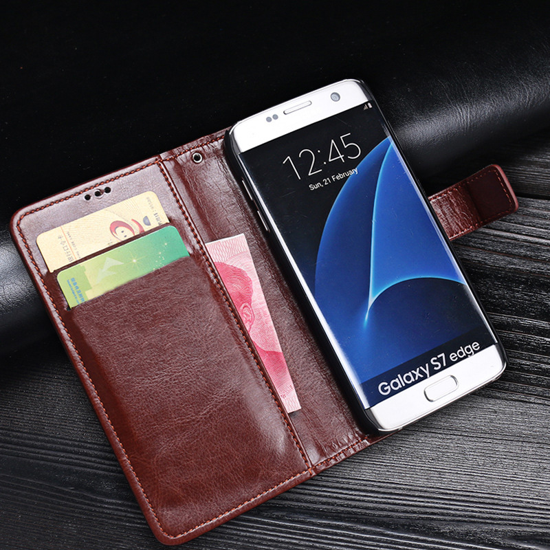 S3 S4 S5 <font><b>S6</b></font> Core 2 G355 <font><b>Flip</b></font> Leather Wallet <font><b>Case</b></font> Cover For <font><b>Samsung</b></font> S7 Edge S8 S9 Note 9 Grand Prime G530 G360 S5 Mini Phone Capa image