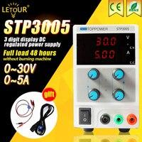실험실 전원 공급 30 볼트 5A 전압 레귤레이터 조절 DC 전원 150