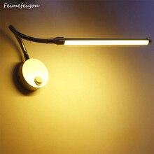 Đèn LED Đọc Sách Đèn Treo Tường Có Núm Công Tắc 90 260V 5W Phòng Ngủ Hiện Đại Đèn Ngủ Sáng Cơ Thể góc 360 Độ Có Thể Điều Chỉnh