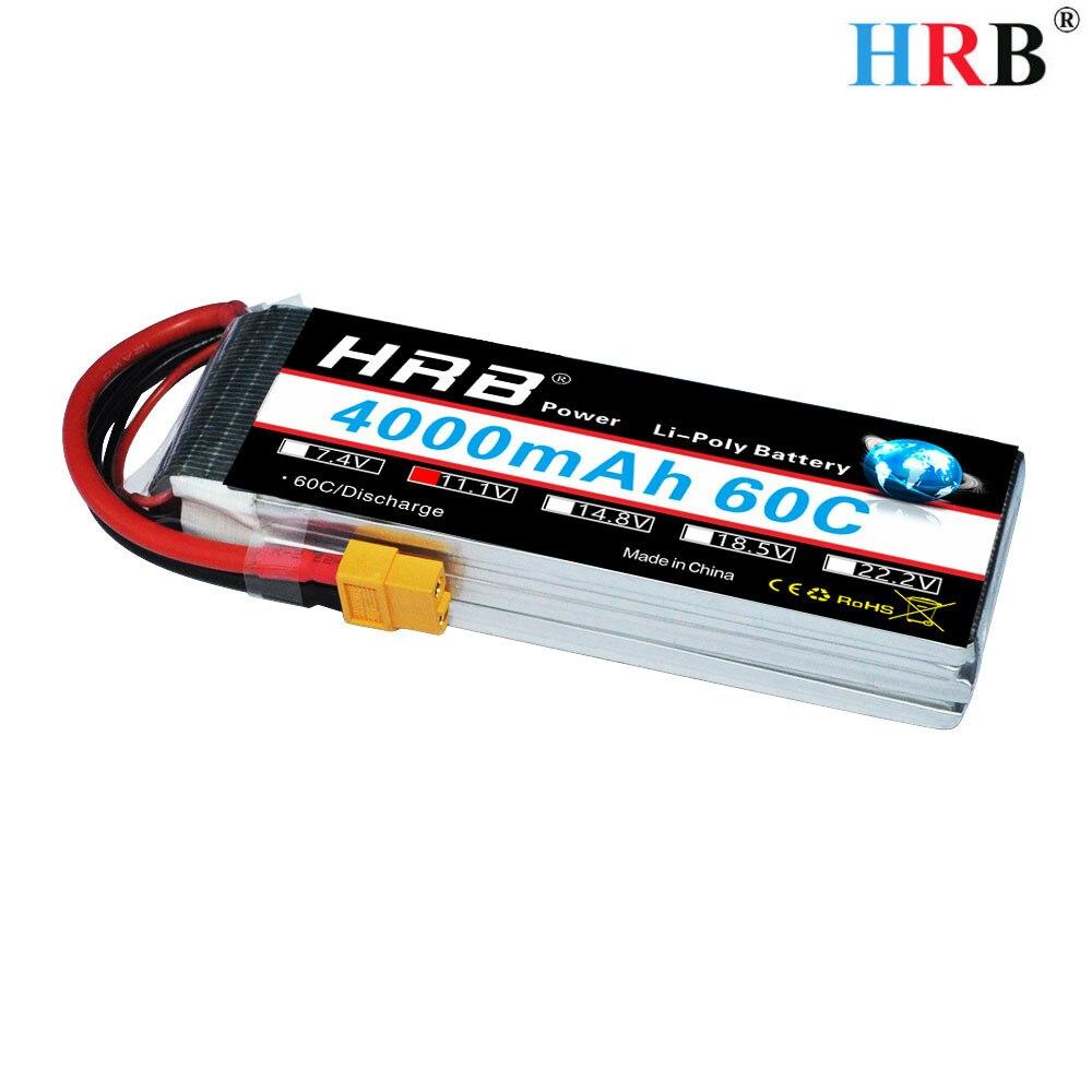 HRB 3S 11.1V 4000mah 60C Lipo
