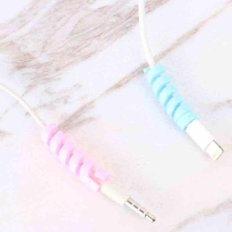 Линии передачи данных USB защитный чехол для iphone se 5s 6s 7 8 плюс зарядный кабель для huawei p20 lite p смартфон аксессуары