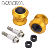 BJGLOBAL CNC Motorcycle Rear Fork Wheel Frame Sliders Crash Protector for KTM DUKE 390 250 125 200 RC390 125 250 200