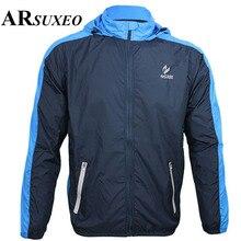 ARSUXEO велосипедная куртка для бега, езды на велосипеде, куртка для спорта на открытом воздухе, ветронепроницаемая, водонепроницаемая, с защитой от ультрафиолета, для горного велосипеда, Шоссейная куртка, куртки
