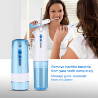 USB Portable Oral Irrigator Water Flosser Dental SPA Water Floss Jet Dental Flosser Teeth Cleaning Foldable