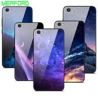 Für Xiaomi Redmi Note 5A Fall Gehärtetes Glas Planeten Raum Abdeckung Glas Zurück Fall für Xiaomi Xiomi Redmi Hinweis 5A 2 gb 16 gb 5,5 zoll