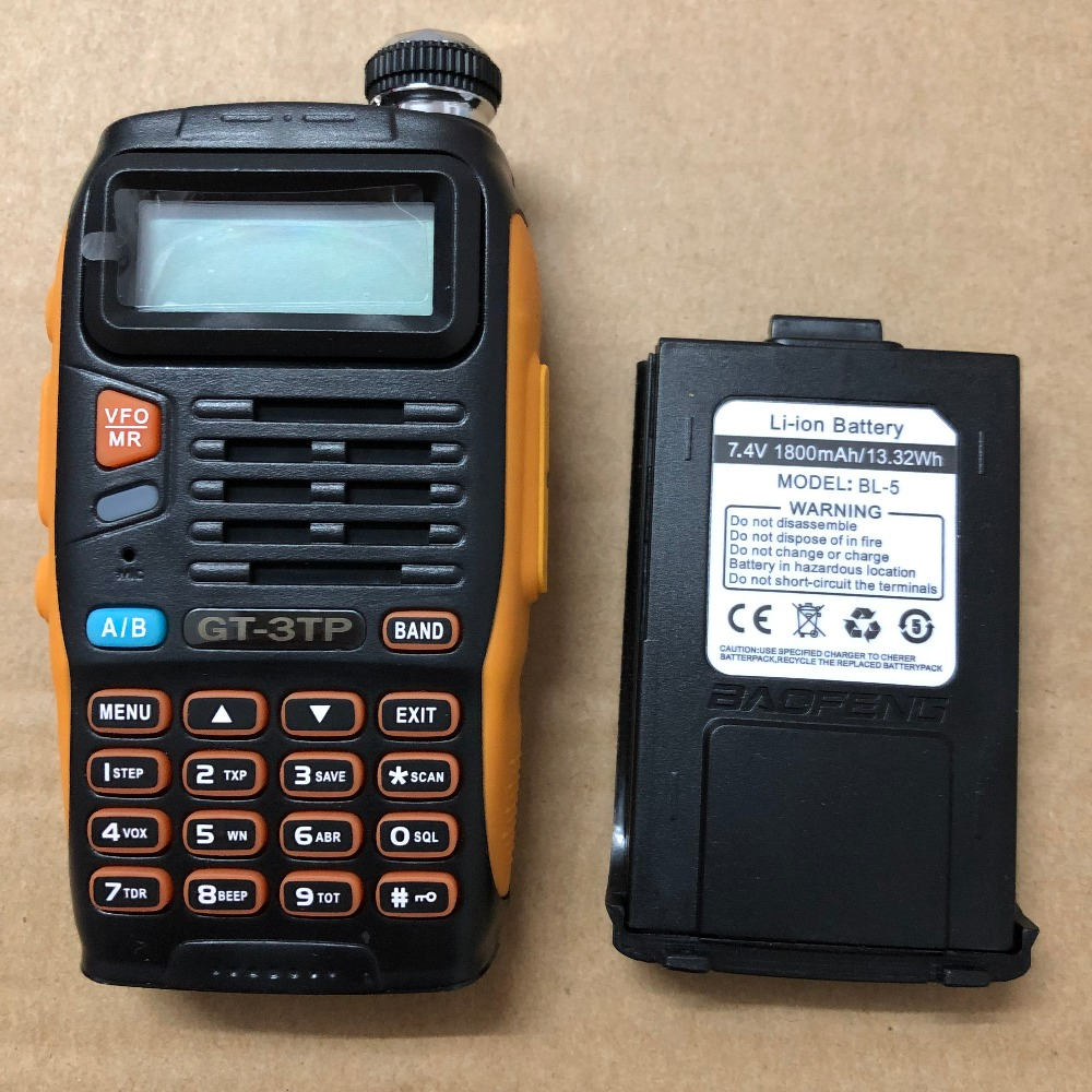 Image 3 - GT3TP walkie talkie battery 1800mAh 100%7.4v  GT 3 Mark II and GT 3TP Mark III  battery GT 3TP/GT 3-in Walkie Talkie from Cellphones & Telecommunications