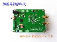 Radio Frequenz Signal Quelle ADF4350 ADF4351 + STM32F103 Steuert Breitband STM32 Single chip mikrocomputer-in Klimaanlage Teile aus Haushaltsgeräte bei