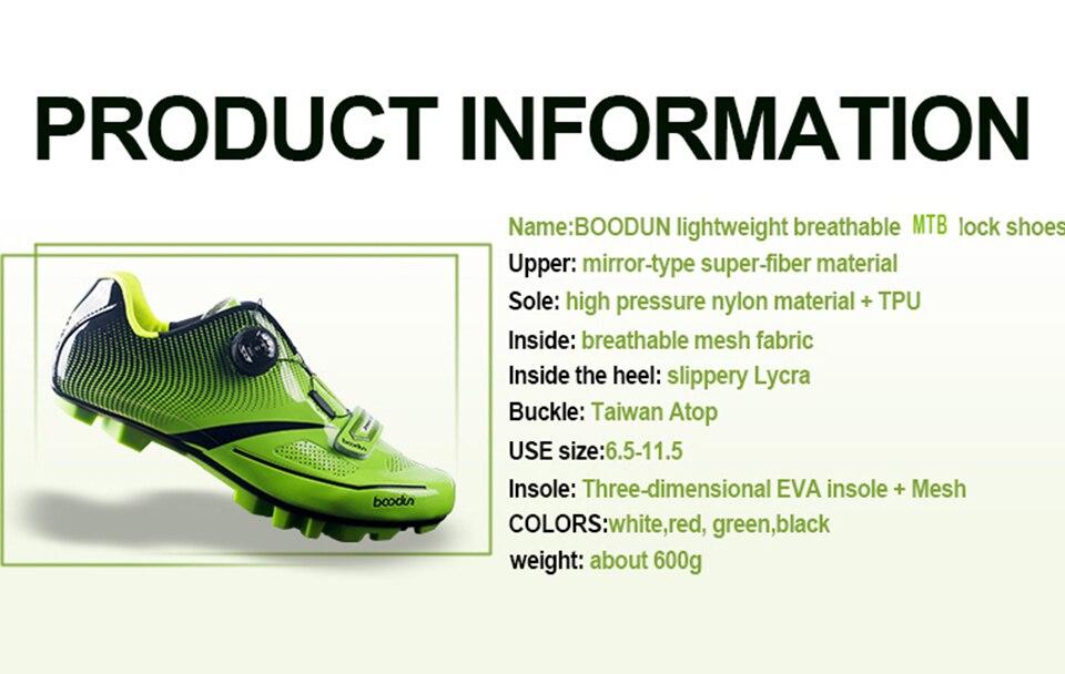 24f20f3d1 Compre Boodun Homens Mulheres Sapatos De Ciclismo Ultraleve Sola De ...