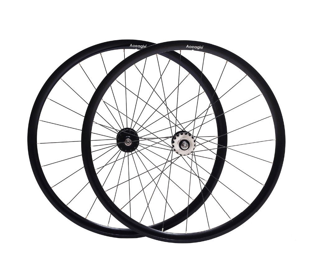 Fixed Gear bike wheel rim 25mm aluminum alloy Retro wheel flip-flop Vintage bike wheel rim fixie Track bike rimFixed Gear bike wheel rim 25mm aluminum alloy Retro wheel flip-flop Vintage bike wheel rim fixie Track bike rim