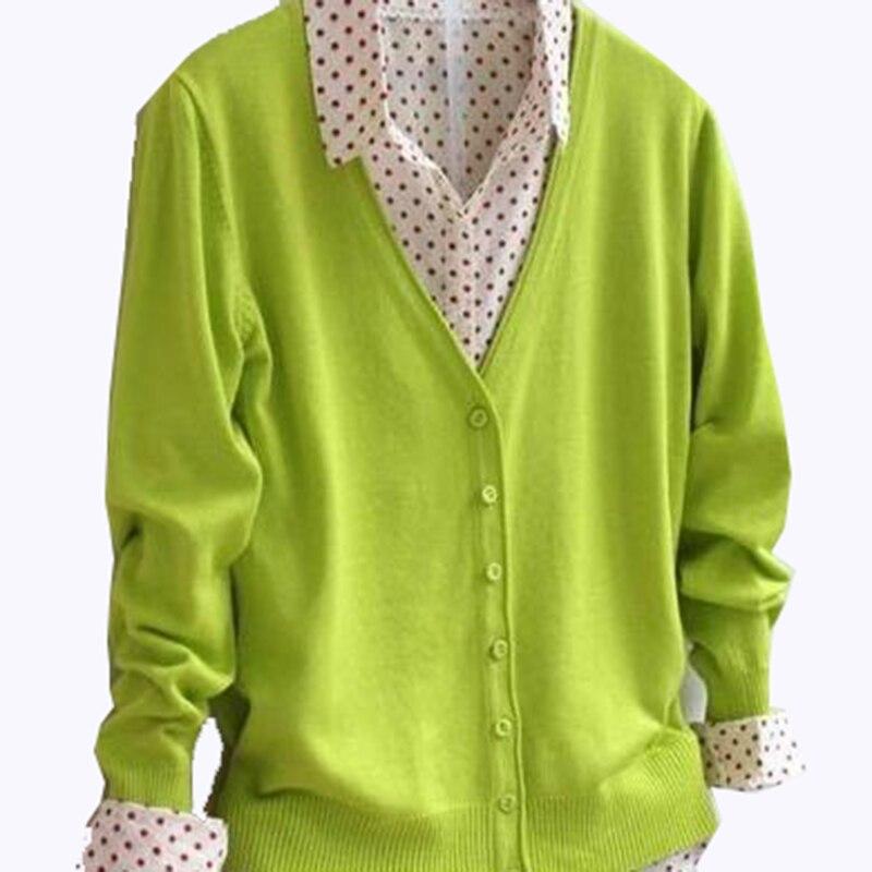 Plius 3XL 4XL naujas moteriškas megztinis megztinis megztinis - Moteriški drabužiai