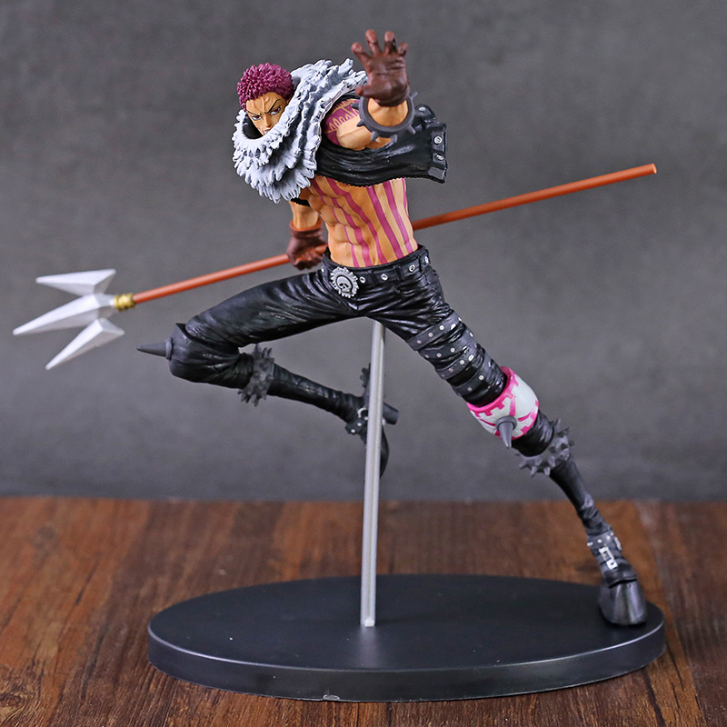 <font><b>One</b></font> <font><b>Piece</b></font> Charlotte <font><b>Katakuri</b></font> World <font><b>Figure</b></font> Colosseum Tenkaichi Budoukai BWFC 2 vol.5 PVC Collectible Model Toy image