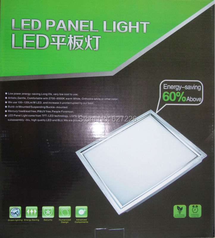 12W Embedded 300*300MM Square LED Panel,LED Indoor <font><b>lighting</b></font>,AC85~265V LED Downlights ,Warranty 3 Years CE & ROHS,5Pcs a Lot