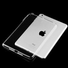 Tablet Case For Ipad MiNi 4 Soft TPU Transparent Silicone Shockproof Cover Ultra Thin Light Weight Case For Ipad MiNi 1 2 3 zimoon for ipad 2 3 4 case tpu clear transparent ultra thin light cover for ipad 2 ipad 3 ipad 4 smart case