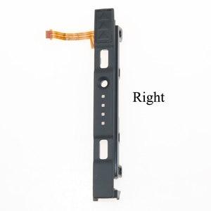 Image 3 - YuXi L R glissière Rail gauche droite curseurs pièces de rechange de chemin de fer pour interrupteur de commande NS Joy con contrôleur Con