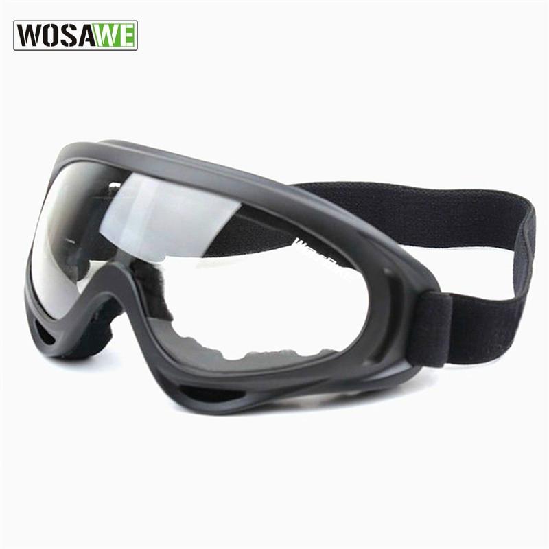 Wosawe protección uv sports ski snowboard skate goggles gafas motocicleta al air