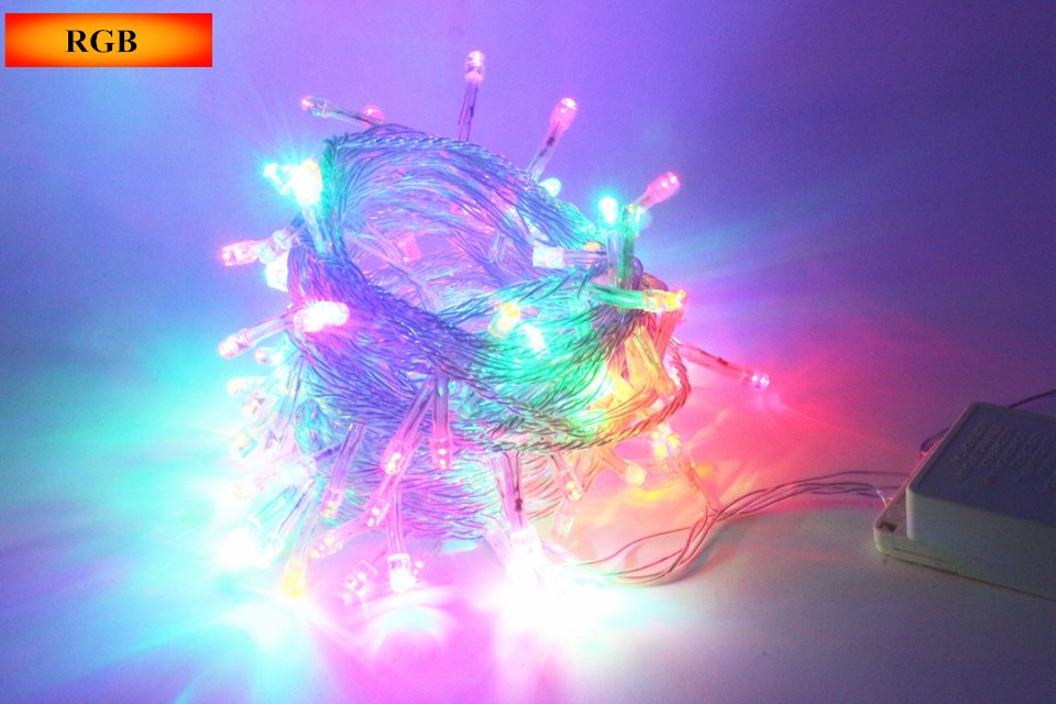 Lighting Strings wedding christmas lights led strings 10m AC220V 110V Led Strip Light Garden Garland (20)