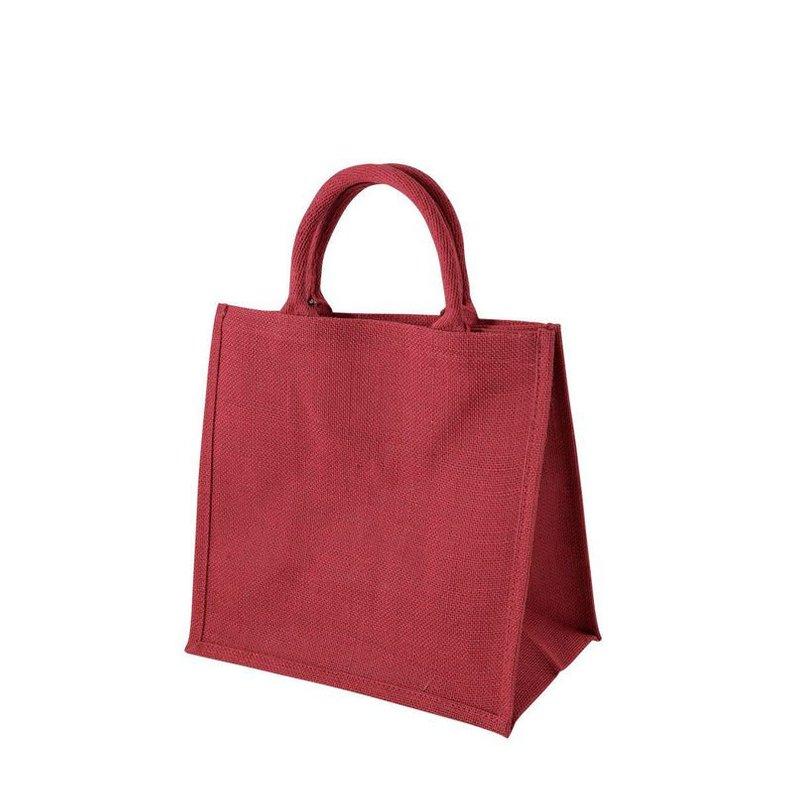 Linen Customize Logo Reusable Canvas Tote Bags For Women Storage Shopping Bag Beach String Handbags Grocery Bag