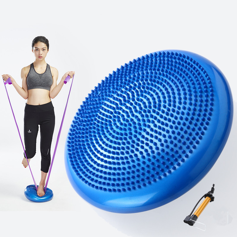 Kleingeräte & Zubehör Yoga Balance Pad Massagekissen Mat Wobble Stability Disc Verdicken Balance Board Fitness & Jogging