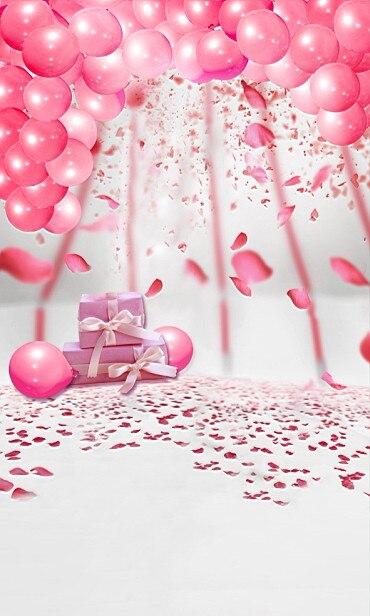 Neue Ankunft Geburtstag Baby Fotografie Hintergrund Fundo Rosa
