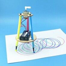 DIY ручка каракули роботы технологии научный экспериментальный материал наборы маленькие физические изобретения Дети Обучающие игрушки