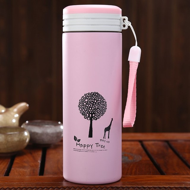 500ML Thermos cup Thermos Mug Vacuum Cup  Stainless Steel insulated Mug Thermal Bottle Thermoses vacuum flask water bottle