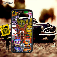5 Five nights at freddys soft TPU edge cell phone cases for samsung s6 plus s7 s8 s9 s10 lite e note8 note9 cover