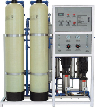 Industrial RO reverse osmosis deionized pure water machine Electroplating water equipment Deionized water    treatment equipment industrial water pollution