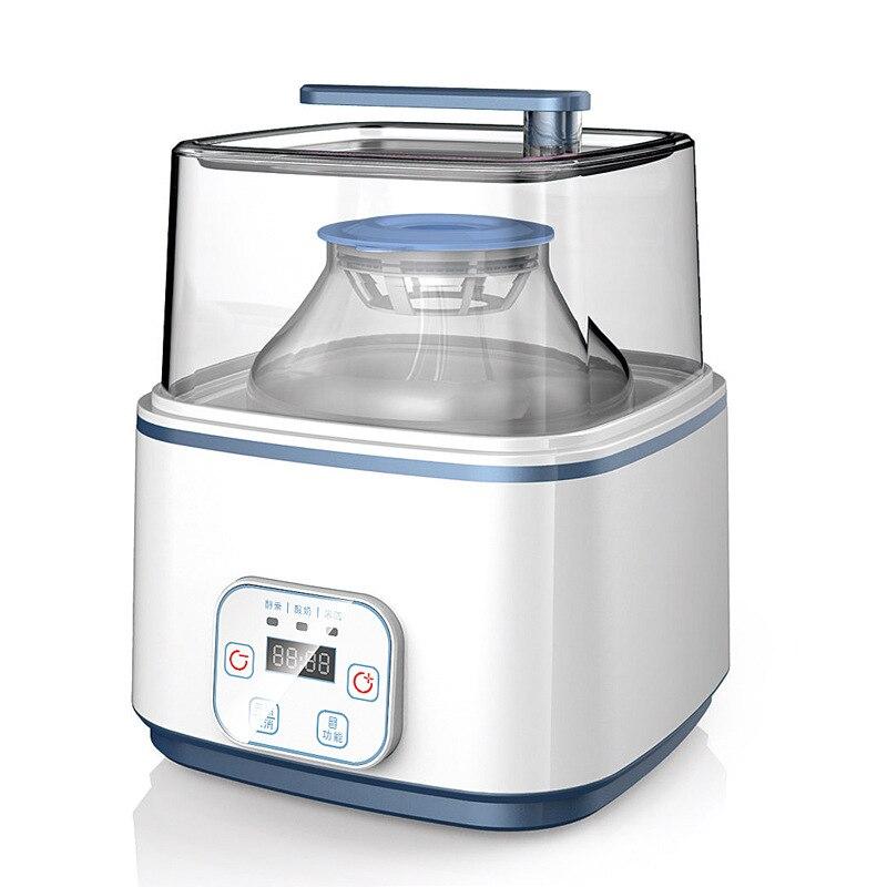kitchen appliances electric  automatic yogurt maker machine glass bear  fermenting lids fermenting supplies  pickle DIY Leben