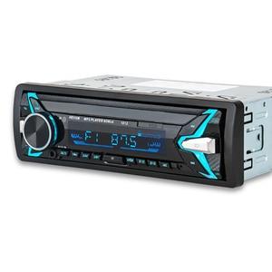 Image 1 - 1012 Auto MP3 Lettore 12 v Blu dente V2.0 Auto Audio Stereo In dash Singolo 1 Din FM Ricevitore ingresso Aux MP3 MMC WMA Radio Player