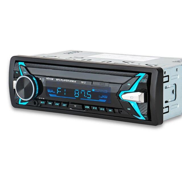 1012 Auto MP3 Lettore 12 v Blu dente V2.0 Auto Audio Stereo In dash Singolo 1 Din FM Ricevitore ingresso Aux MP3 MMC WMA Radio Player
