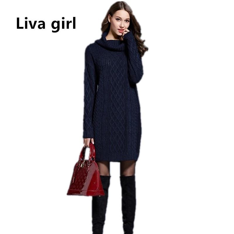 Dress oversized plus size turtleneck sweater fraser